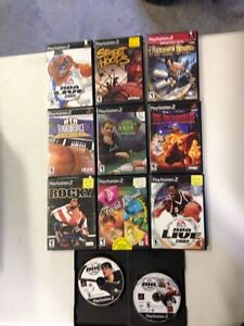 PlayStation 2 games X 11, $7 each or all for $40 Prince George British Columbia image 1