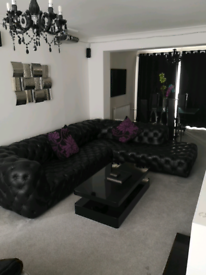 Genuine Leather Corner Sofa in EXCELLENT condition