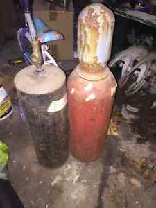 Oxygen and Acc. Small bottles