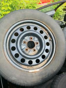 03 grand prix winter tires and rims