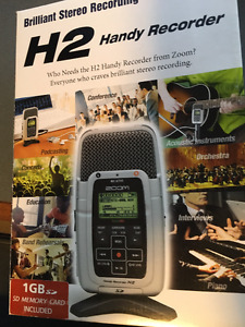 Zoom H2 Handy Recorder - hardly used, excellent condition