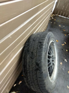 Tires and rims for sale. 245/60R18.