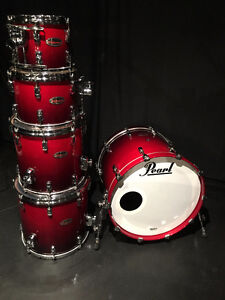 Pearl Reference Drums with Protection Racket Bags