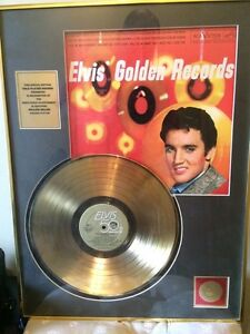 Elvis Presley - Golden Records Vol. 1 Framed Gold Record
