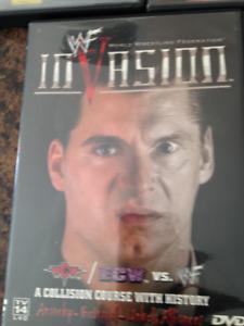 Wrestling DVD's