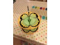Hancocks Art Deco butterfly cake stand