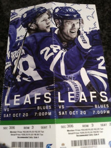 St. louis at Toronto Maple Leafs Saturday Oct 20