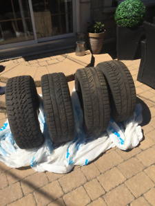 Winter tires for sale (250-55-r16)