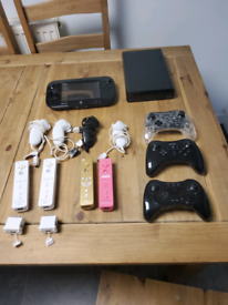 Nintendo Wii U console games 12 controllers 4 player bargain