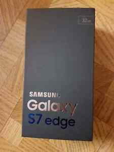 Samsung s7 edge sealed box