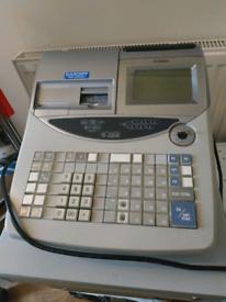 Casio TE 2200 programmable cash register till