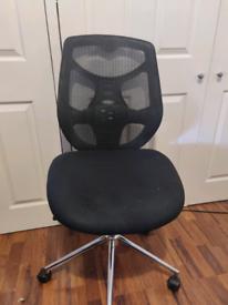 Mesh office chair.