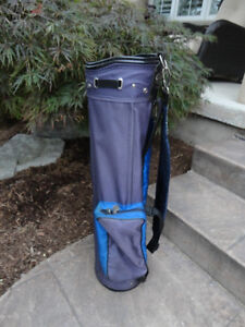 Dynatour Golf Cart Bag - 6 Section with many zippers compartment Kitchener / Waterloo Kitchener Area image 2
