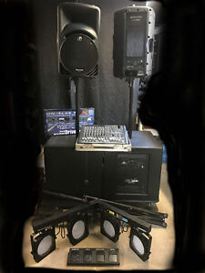 Mint Mackie PA System for Band/DJ *Price Reduced*