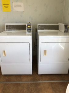 3 Coin Operated Dryers
