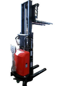 Powered Pallet Stacker, Max Load 2200lb