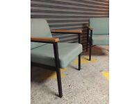 Vintage / Retro low pair of armchair