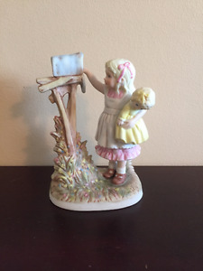 "Schmid ""Star's Summer"" little girl figurine"