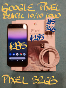 FirmOrTRADE $285 BLK PIXEL 32gb & BOX+charger
