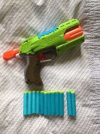 Nerf X-Shot Toy Gun & 12 Bullets