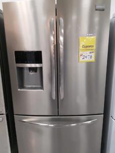 Floor model fridge