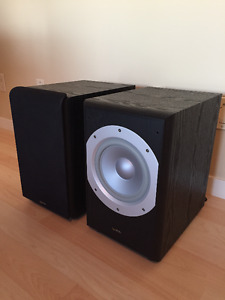 2 Infinity Subwoofers
