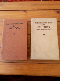 2 x Observer's Books. 1st editions