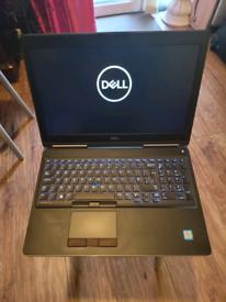 dell 15 xeon laptop 64 ram 1.5tb ssd used.