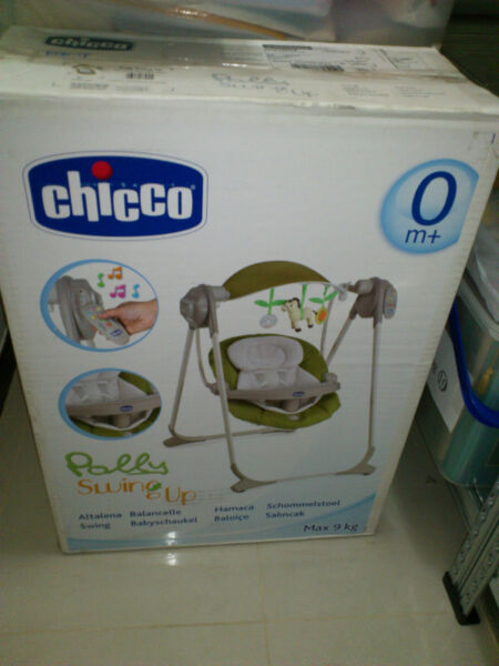 Chicco Baby Swing (Lime) - GOOD Condition - TOP Quality