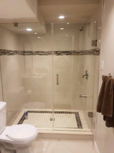 FRAMELESS SHOWER GLASS DOORS, GLASS RAILINGS AND MORE