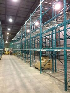 USED, PALLET RACKING, SHELVING, MEZZANINES, INSTALLATIONS