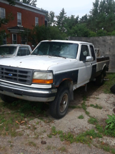 1995 ford f250 4x4 for parts 5.8