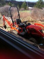 Mini Backhoe for Rent!