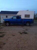 8' truck box camper