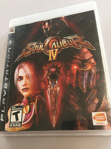 PS3 Game - Soul Caliber IV