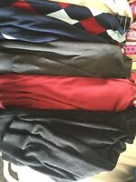 Men's Pants, Shirts & Sweaters - size medium & 32 waist