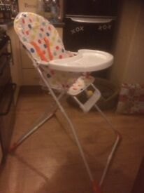 Babystart Compact Folding Highchair