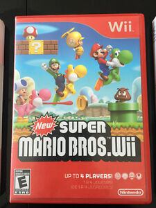 WII GAMES FOR SALE $10.00-$20.00