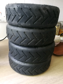 Adult scooter tyres x4