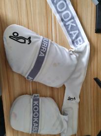 Kookabura Mens cricket Thigh pads (Left Handed batsmen)