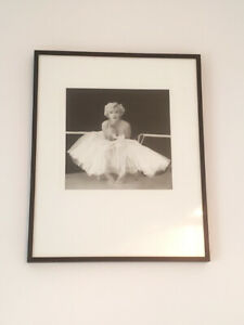 Marilyn Monroe Portrait in frame