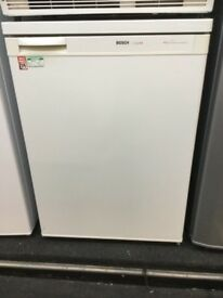 Bosch white under counter fridge