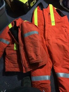 Construction jacket an pants sz LG Peterborough Peterborough Area image 1