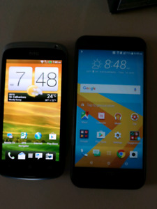 HTC One M9 and One S