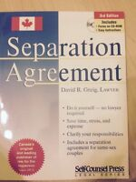 Separation Agreement forms on CD