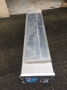 Long Aluminum Locking Box with Slide Out Tray Truck or Trailer