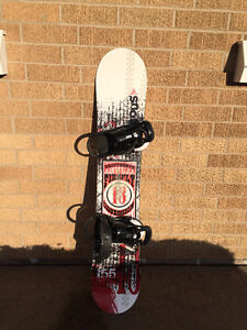 Snowboard & Boots - 155cm - Size 9