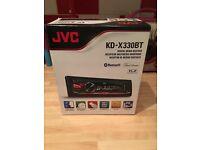 Jvc head unit box as new
