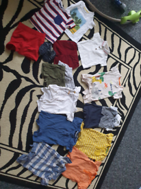 Bundle of summer baby clothes. Most 0-3 months