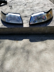 99-04 stock Ford Mustang headlights